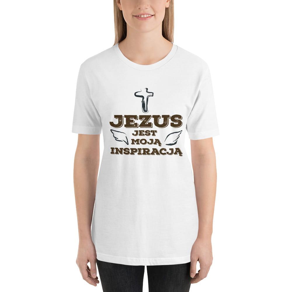Koszulka religijna Jezus jest moją inspiracją