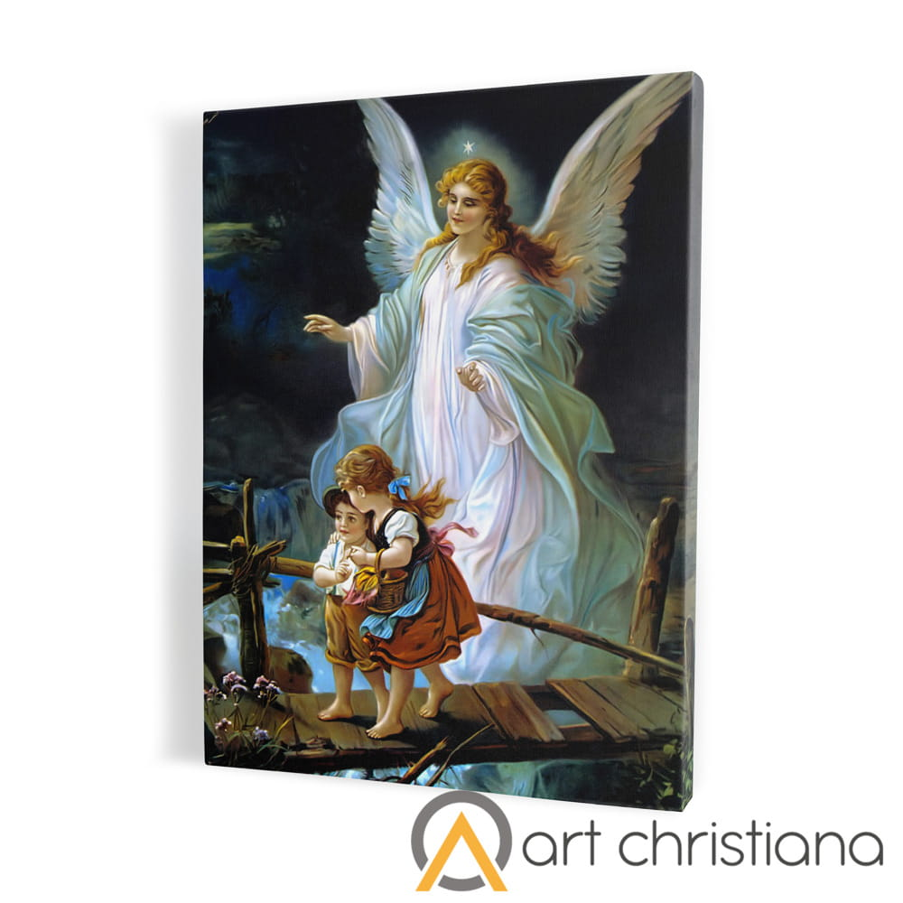 Anioł Stróż Obraz Religijny Canvas Upominkireligijne Pl
